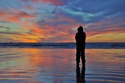 contemplating-sunset
